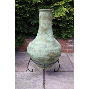 Mexican Tibor Clay Charcoal And Wood Burning Chimenea By Gardeco