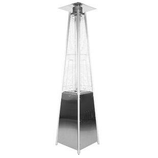 Garden Sun Stainless Steel Pyramid 34,000 BTU Propane Patio Heater By Garden Radiance