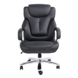 Comfort Products Admiral III High-Back Leather Executive Chair