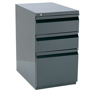 Storlie 3 Drawer Box/File Filing Cabinet