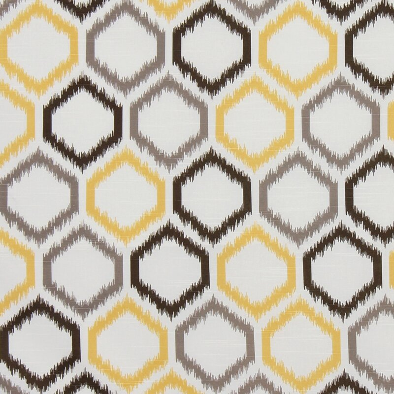 Trellis Fabric dwellstudio ikat trellis fabric - citrine & reviews | dwellstudio