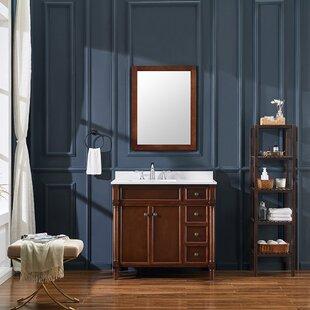Norwich 37 Single Bathroom Vanity Set by Ove Decors