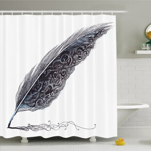 Image of a Dated Classic Quill Shower Curtain Set