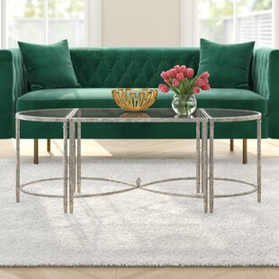 Gofried 3 Piece Coffee Table Set