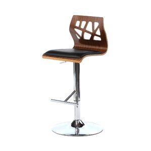 Little Badminton Swivel Bar Stool by Wade Logan