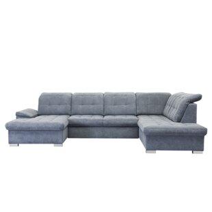 Review Jamaal Sleeper Corner Sofa Bed