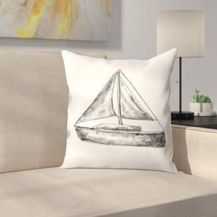 Sailboat Pillow   Wayfair