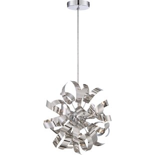 Orren Ellis Copeland 3-Light Globe Chandelier
