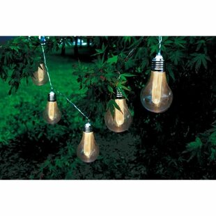Banner Gold Solar Powered Collapsible LED Outdoor Hanging Light By Freeport Park