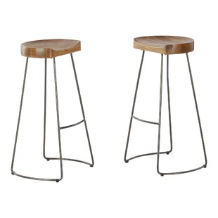 Wildwood 77cm Bar Stool (Set Of 2) By Williston Forge