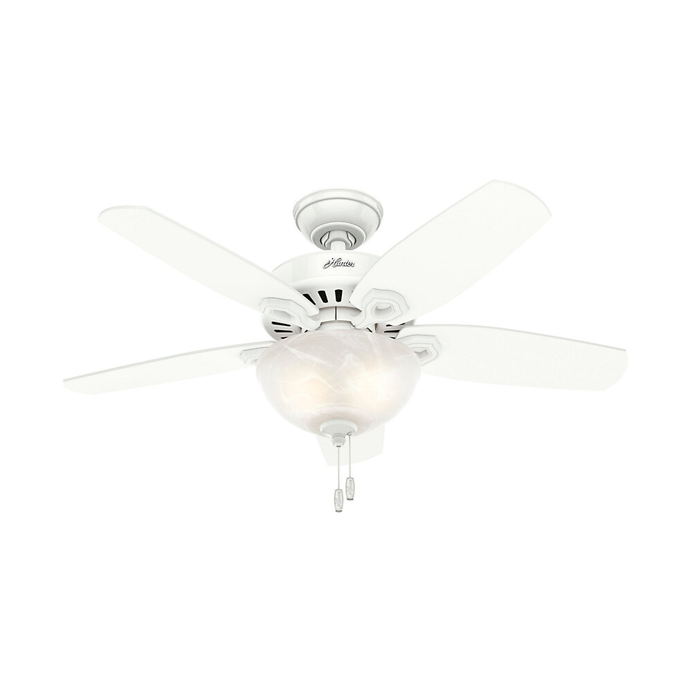 Hunter Fan 42 Builder 5 Blade Standard Ceiling With Pull