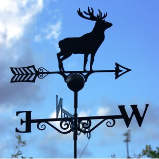Stag Weather Vane By Alpen Home