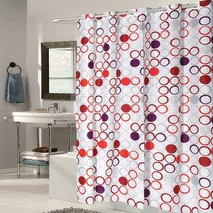 Boho Fabric Shower Curtain