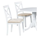Fontinella Solid Wood Dining Chair (Set of 2) by Alcott Hill®