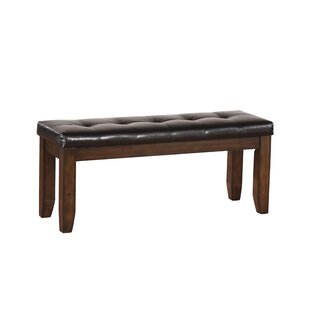 Stanley Wood Bench by Alcott Hill