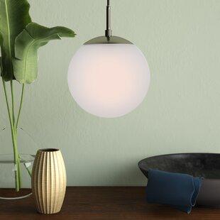 Claar 1-Light Pendant by W..