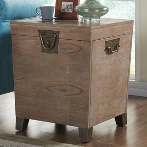 Pedro Trunk End Table