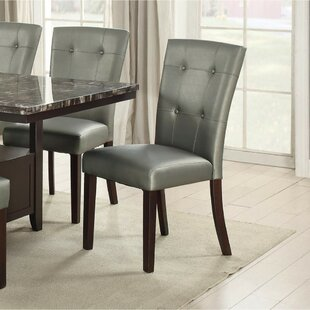 Panella Upholstered Dining Chair (Set of 2) Winston Porter