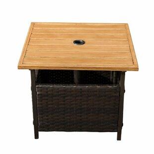 Flatiron Plastic/Resin Side Table