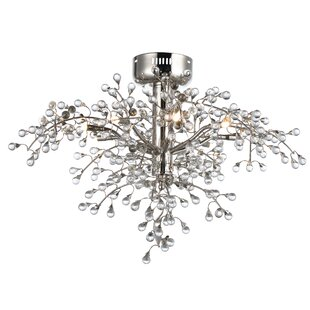 Rosdorf Park Owlswick 8-Light Semi Flush Mount