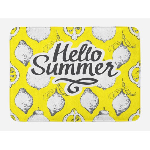 Ambesonne Hello Bath/Kitchen Mat