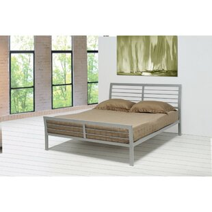 Trent Austin Design Chayne Transitional Style Metal Queen Platform Bed