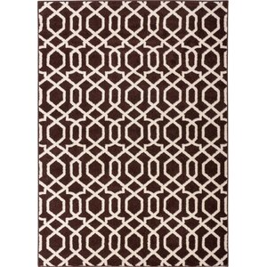 Sydney Geo Helix Brown Area Rug