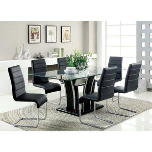Peralez Dining Table by Orren Ellis