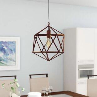 Wrought Studio Alrai Wire 1-Light Pendant
