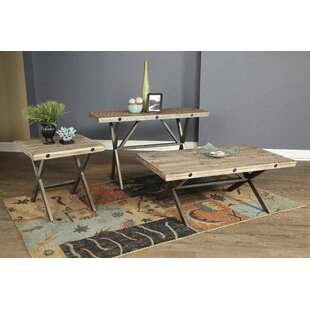 Callista 3 Piece Coffee Table Set
