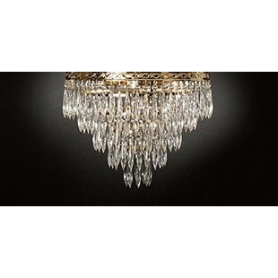 Kindel 4-Lights LED Flush Mount by House of Hampton