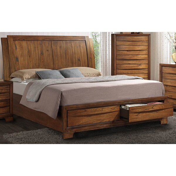 Loon Peak Russet Queen Storage Sleigh Bed Wayfair