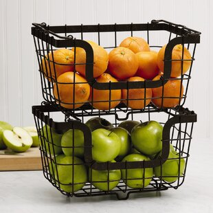 Fruit Basket (Set of 2)