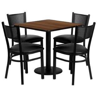 Lomonaco 5 Piece Dining Set by Winston Po..