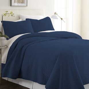 Blue Quilts Coverlets Sets You Ll Love Wayfair