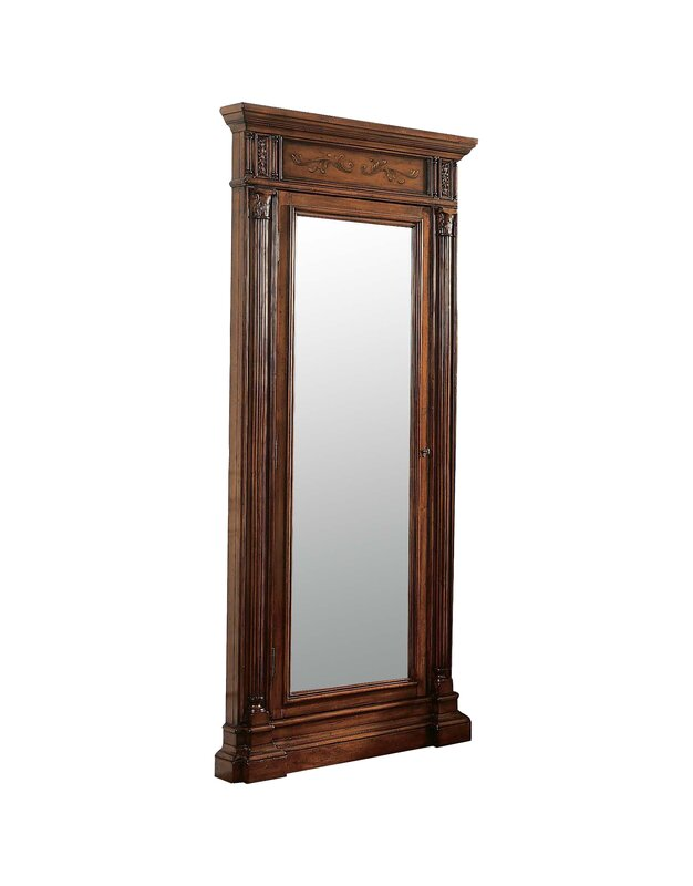 Hooker Furniture Seven Seas Jewelry Armoire with Mirror Reviews