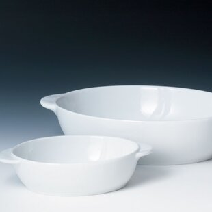 White by Denby 17.5 Ounce Small Oval Serving Bowl & Denby White by Denby | Wayfair