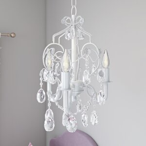 Caden 3-Light Crystal Chandelier