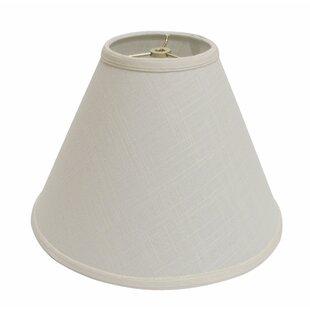 19 Linen Empire Lamp Shade