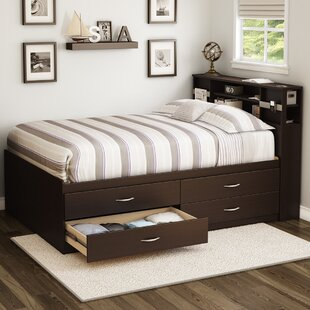South Shore Step One Full/Double Storage Platform Bed