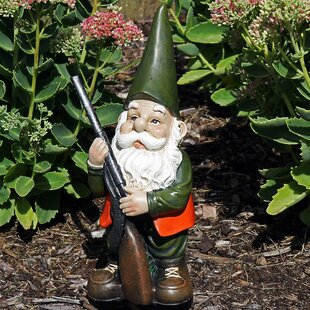 Waller Hank The Hunting Gnome Statue By Millwood Pines