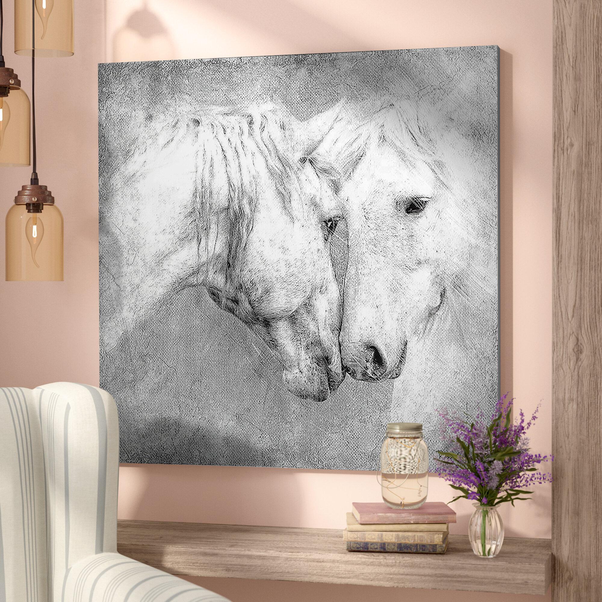 Metal Wall Art Large Original Shining Indoor Outdoor Horse Decor by Master Cut