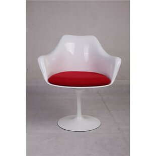 Marcelle Flared Arm Dining Chair by Brayd..