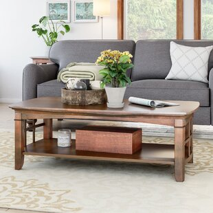 Peaslee Coffee Table by Alcott Hill