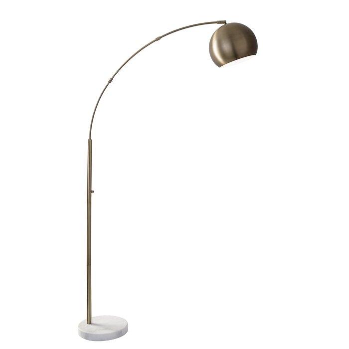 Astoria 78 arched floor lamp