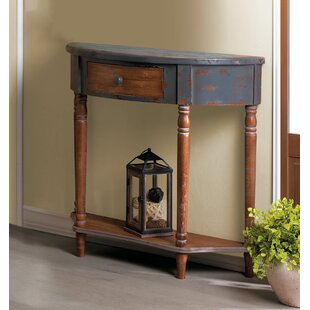 Stupendous Wyble Wood Half Moon Console Table Ibusinesslaw Wood Chair Design Ideas Ibusinesslaworg