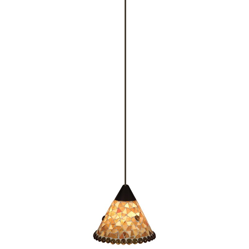 Marlow Home Co Lynelle 1 Light Cone Pendant Reviews Wayfair Co Uk