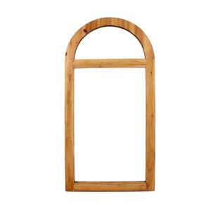 Teton Home Wood Wall Mirror (Set of 2)