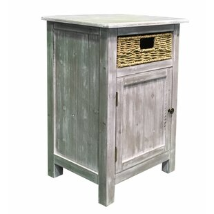 Dereham End Table with Storage by Highland Dunes