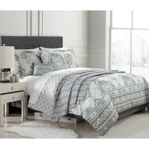 Isadora 10 Piece Reversible Comforter Set